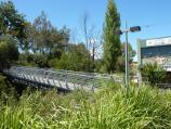 Lilydale / Shops and commercial centre, Main Street / Footbridge over Olinda Creek, south side of Main St