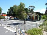 Lilydale / Shops and commercial centre, Main Street / Square fronting Main St at entrance to Lilydale Recreation Reserve