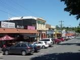 Lilydale / Shops and commercial centre, Main Street / View west along Main St west of Olinda Creek
