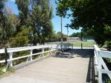 Lilydale / Lilydale Recreation Reserve, off Main Street and Chapel Street / View west across footbridge over Olinda Creek towards main oval