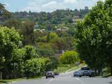 Lilydale / Yarra Ranges Council offices, Anderson Street / View towards offices from pathway along Anderson St
