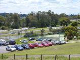 Lilydale / Eyrefield Park, Hardy Street / View towards tennis courts and skate ramp