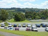 Lilydale / Eyrefield Park, Hardy Street / Westerly view over car park towards model car racing track