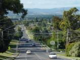 Lilydale / Lilydale to Warburton Rail Trail / View north-east along Maroondah Hwy from rail trail bridge