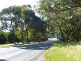 Lilydale / Warburton Highway / View north-west along Warburton Hwy near Glenside Cl