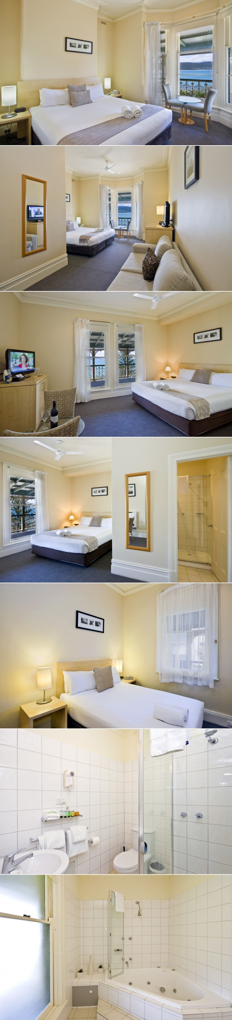 Grand Pacific Hotel - Hotel rooms