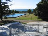 Lorne / Main beach and foreshore area / Pool and skate park on foreshore