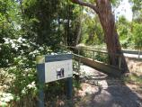 Macedon / Tony Clarke Recreation Reserve, Waterfalls Road / Waterfall Walk at entrance to reserve on Waterfalls Rd