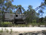 Maldon / Historic dredge and dragline, Bendigo - Maldon Road / Excavator