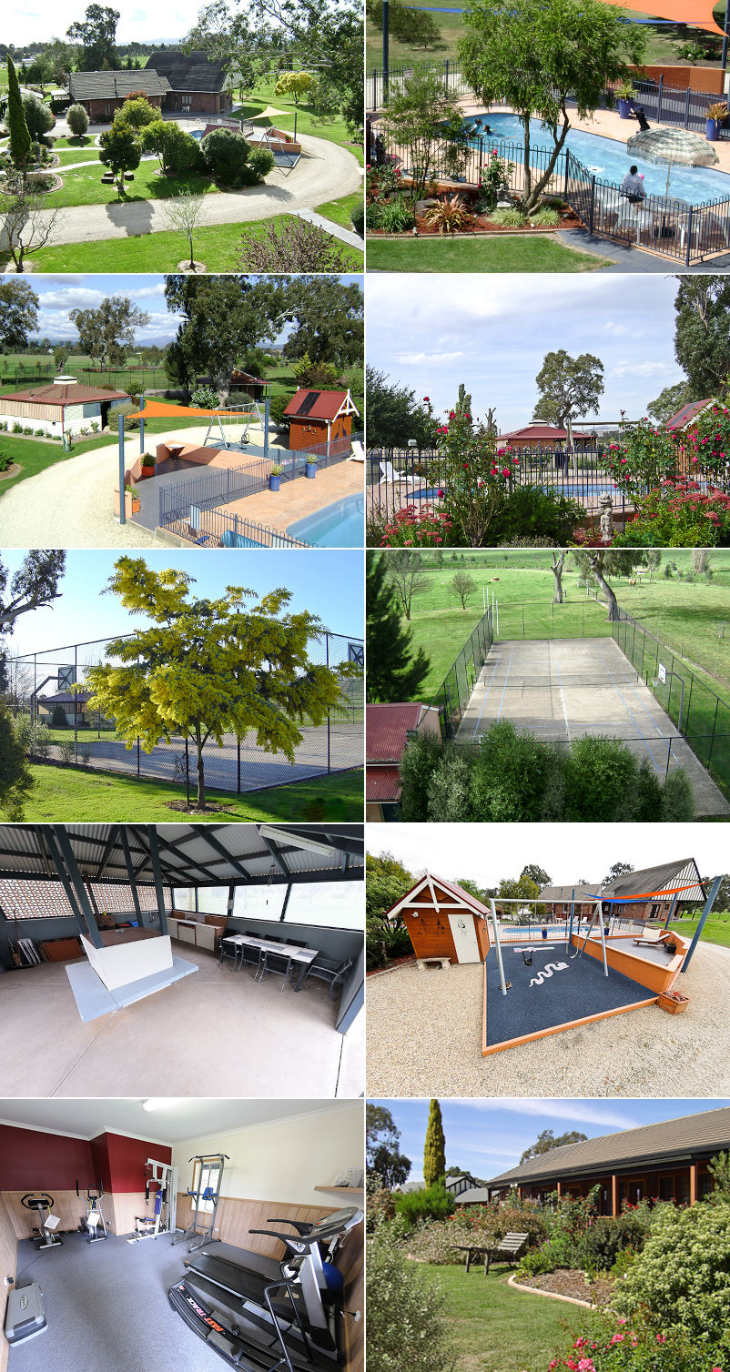 Greenvale Holiday Units - Grounds and facilities