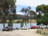 Mansfield / Lake Nillahcootie, Midland Highway, 25 km north of Mansfield / Car park at boat ramp