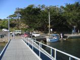 Marlo / Jetty, boat ramp and Foreshore Road / View from jetty back towards coast and boat ramp