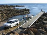Marlo / West Cape at Cape Conran / Boat ramp and jetty
