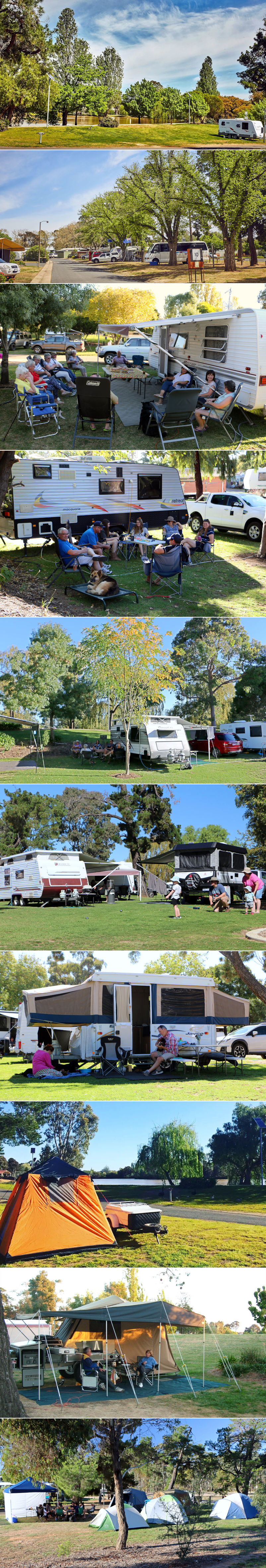 Maryborough Caravan Park - Sites