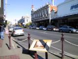 Maryborough / Commercial centre and shops / View south-west along High St between Nolan St and Tuaggra St