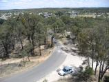 Maryborough / Bristol Hill Reserve / View along Miners Drive from lookout tower