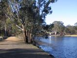 Maryborough / Goldfields Reservoir / Walking track along reservoir