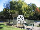 Marysville / (before the fires) Gallipoli Park, Murchison Street / Old water wheel