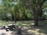 Marysville / Town of Buxton / Picnic area at park beside Steavenson River