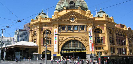 Melbourne CBD maps facts Travel Victoria accommodation