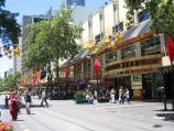 Melbourne / Bourke Street Mall / View east towards Swanston St