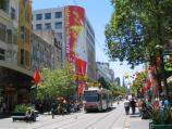 Melbourne / Bourke Street Mall / View east
