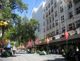 Melbourne / Bourke Street Mall / Myer and David Jones department stores