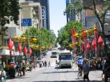 Melbourne / Bourke Street Mall / View west towards Swanston St