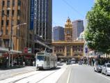 Melbourne / Elizabeth Street / View south along Elizabeth St towards Flinders Lane and Flinders Street Station