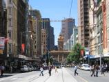Melbourne / Elizabeth Street / View south along Elizabeth St at Little Collins St