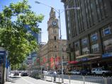 Melbourne / Elizabeth Street / View north along Elizabeth St towards Bourke St and GPO