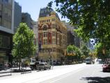Melbourne / Collins Street / View east along Collins St towards Elizabeth St