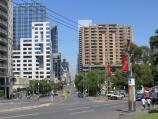 Melbourne / La Trobe Street / View west along Latrobe St at Victoria St