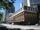 Melbourne / Spencer Street / View west across Spencer St at Flinders La towards Grand Central Apartments