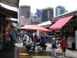 Melbourne / Queen Victoria Market / Walkways through market