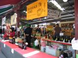 Melbourne / Queen Victoria Market / Wine sellers