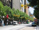 Melbourne / Swanston Street / View north along Swanston St towards Flinders Lane
