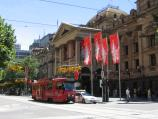Melbourne / Swanston Street / Melbourne Town Hall, view north along Swanston St at Collins St