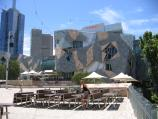 Melbourne / Federation Square / View from Transport Hotel towards Yarra Building