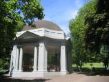 Melbourne / Queen Victoria Gardens, St Kilda Road at Linlithgow Avenue / Lady Janet Clarke memorial rotunda