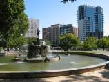 Melbourne / Kings Domain / MacRoberton Fountain near corner of St Kilda Rd and Domain Rd