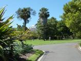 Melbourne / Royal Botanic Gardens / View towards Guilfoyle Lawn