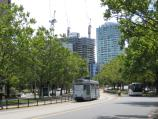 Melbourne / St Kilda Road / View north along St Kilda Rd at Bowen Crescent