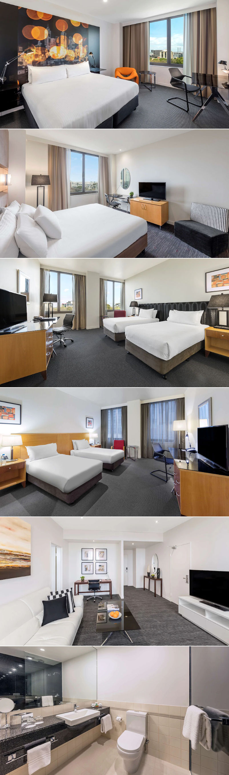 Radisson on Flagstaff Gardens - Rooms