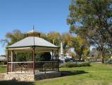 Milawa / Commercial centre of Oxley / Rotunda, gardens on Snow Rd between King St and Shadforth St
