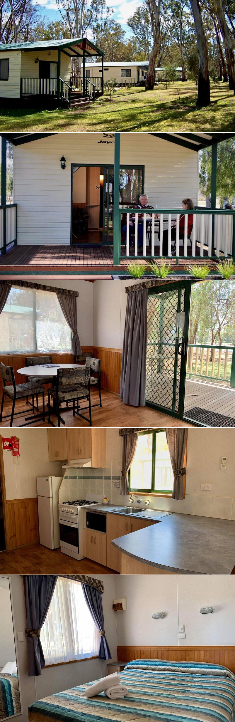 Cool Golden River Holiday Park  Mildura  Accommodation Deals