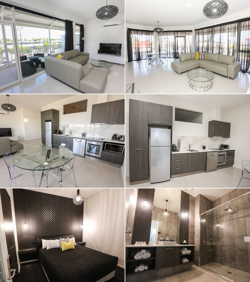 Indulge Apartments Mildura CBD - 1 and 2 bedroom executive apartments