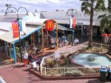 Mildura / Commercial centre and shops around Langtree Avenue / View down to McDonalds, Langtree Mall at 8th St