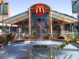 Mildura / Commercial centre and shops around Langtree Avenue / Fountain at McDonalds, Langtree Mall at 8th St