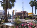 Mildura / Commercial centre and shops around Langtree Avenue / Fountain in front of McDonalds, Langtree Mall at 8th St